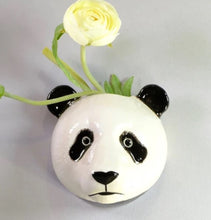 Load image into Gallery viewer, Panda Wall Vase by Quail (large)