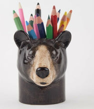 Load image into Gallery viewer, Brown Bear Pencil Pot by Quail
