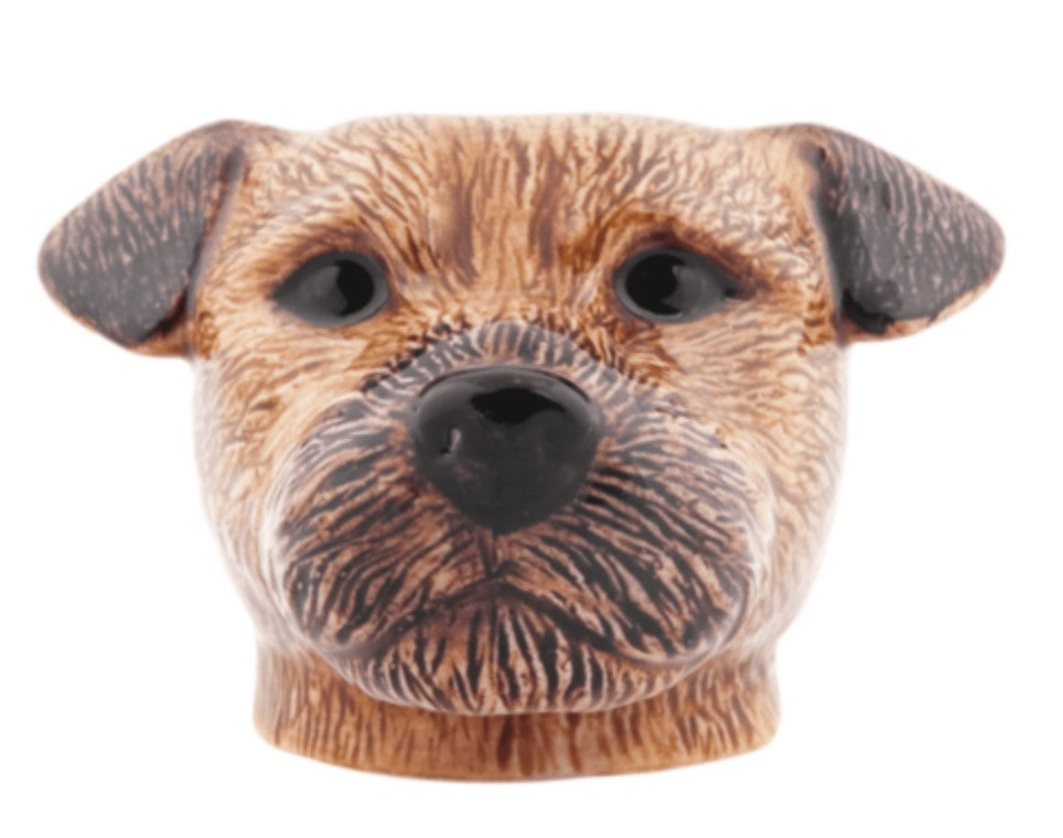 Border Terrier Egg Cup by Quail