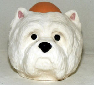 Westie Egg Cup by Quail