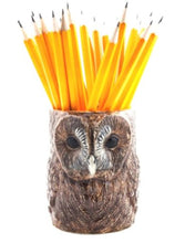 Load image into Gallery viewer, Tawney Owl Pencil Pot by Quail