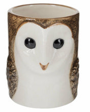 Load image into Gallery viewer, Barn Owl Pencil Pot by Quail