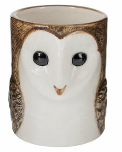 Barn Owl Pencil Pot by Quail