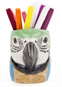 Macaw Pencil Pot by Quail