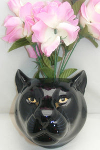 Panther Wall Vase by Quail (large)