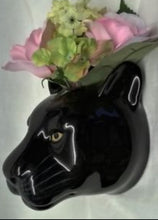 Load image into Gallery viewer, Panther Wall Vase by Quail (large)
