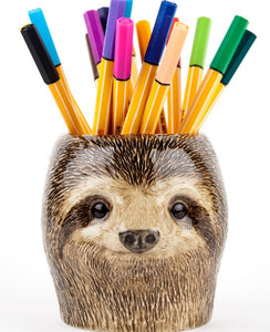 Sloth Pencil Pot by Quail