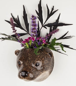 Otter Wall Vase by Quail (small)