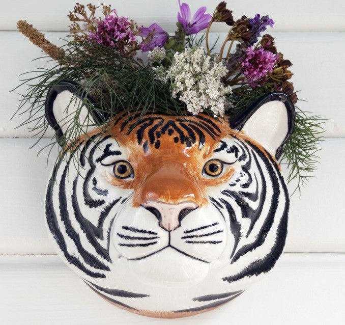 Tiger Wall Vase by Quail (large)