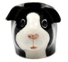 Load image into Gallery viewer, Guinea Pig Egg Cup by Quail (Black & White)