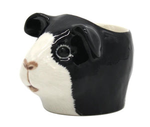Guinea Pig Egg Cup by Quail (Black & White)