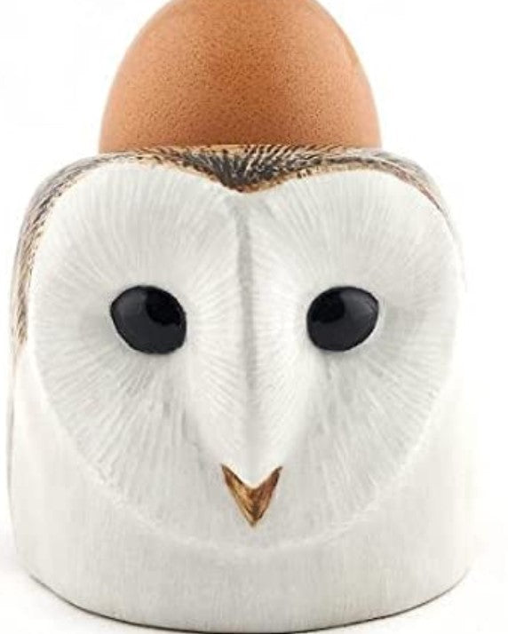 Barn Owl  Egg Cup by Quail