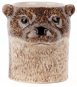 Otter Pencil Pot by Quail