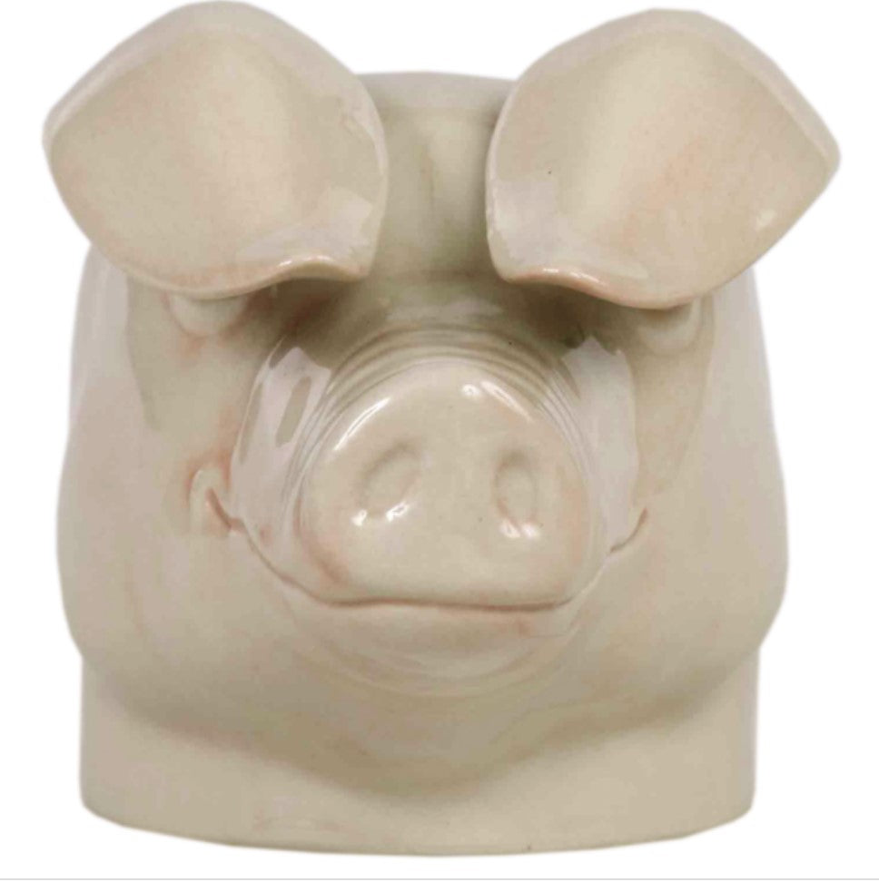 Pig Egg Cup by Quail (British Lop)