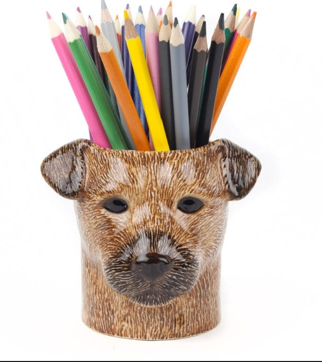 Border Terrier Pencil Pot by Quail