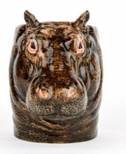 Load image into Gallery viewer, Hippo Pencil Pot by Quail