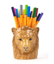 Load image into Gallery viewer, Lion Pencil Pot by Quail