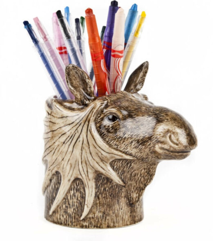 Moose Pencil Pot by Quail