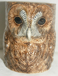 Tawney Owl Pencil Pot by Quail
