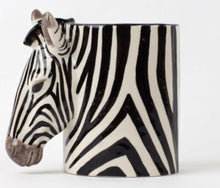 Load image into Gallery viewer, Zebra Pencil Pot by Quail
