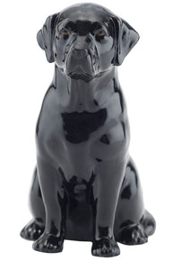 Labrador Money Box by Quail (black)