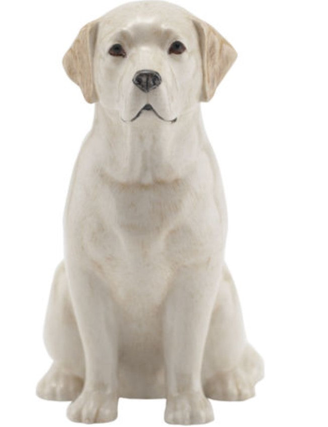 Labrador Money Box by Quail (gold)