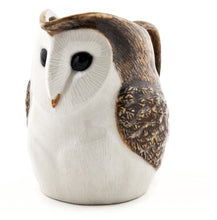 Load image into Gallery viewer, Barn Owl Jug by Quail