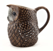 Load image into Gallery viewer, Tawney Owl Jug by Quail