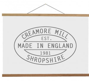 "Natural Oak Poster Hanger (20"") from Creamore Mill"