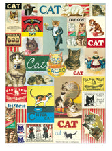 Load image into Gallery viewer, Cavallini Vintage Cats Wrapping Paper Poster