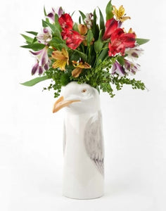 Quail Herring Gull Flower Vase (large)