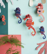 Load image into Gallery viewer, Sea Horse Wall Decoration Kit