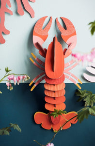 Lobster Wall Decoration Kit (Medium)