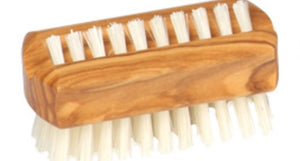 Travelling Nail Brush by Redecker