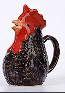 Maran Cockerel Jug by Quail