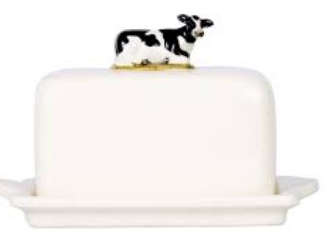 Butter Dish by Quail  (Friesian Cow)
