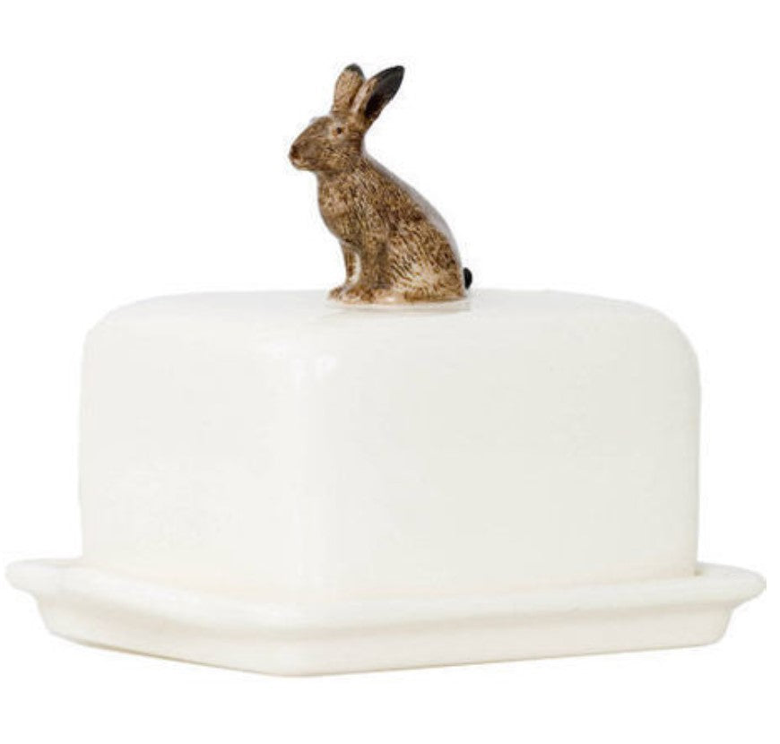 Butter Dish by Quail (Hare)