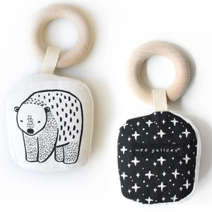 Teething Ring (Bear) by WEE Gallery