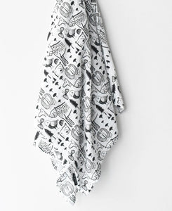 Muslin Swaddle (Wild) by WEE Gallery
