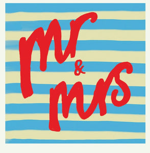 Card - Mr & Mrs