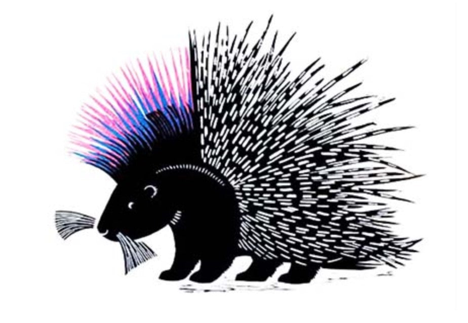 Card - Punky Porcupine by Josephine Sumner