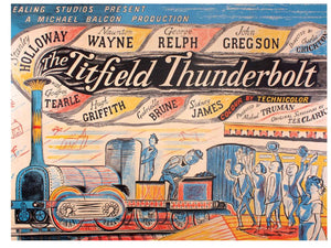 Card - The Titchfield Thunderbolt by Edward Bawden