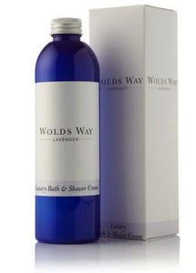 Wolds Way Lavender - Luxury Bath & Shower Cream 250ml