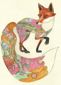 Card - Fox by Daniel Mackie