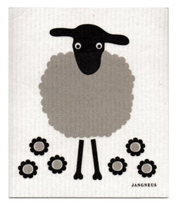 Swedish Style Eco Dishcloth - Sheep