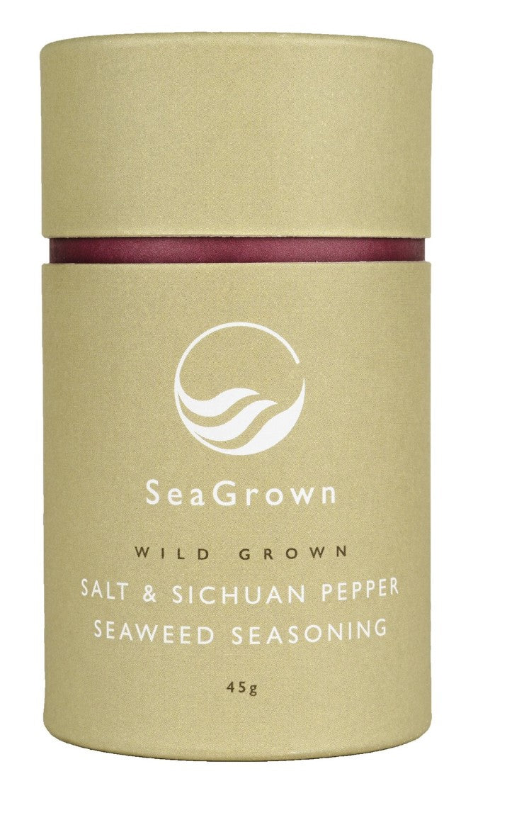 SeaGrown - Salt & Sichuan Pepper Seaweed Season 45g