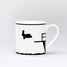 Load image into Gallery viewer, Mug by HAM (Diving Rabbit)