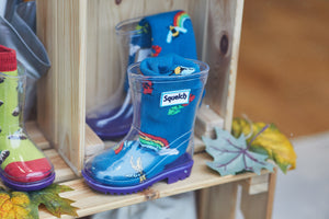 Squelch Transparent Wellies for Kids
