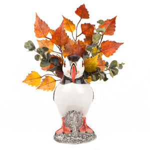 Puffin Flower Vase (large) by Quail