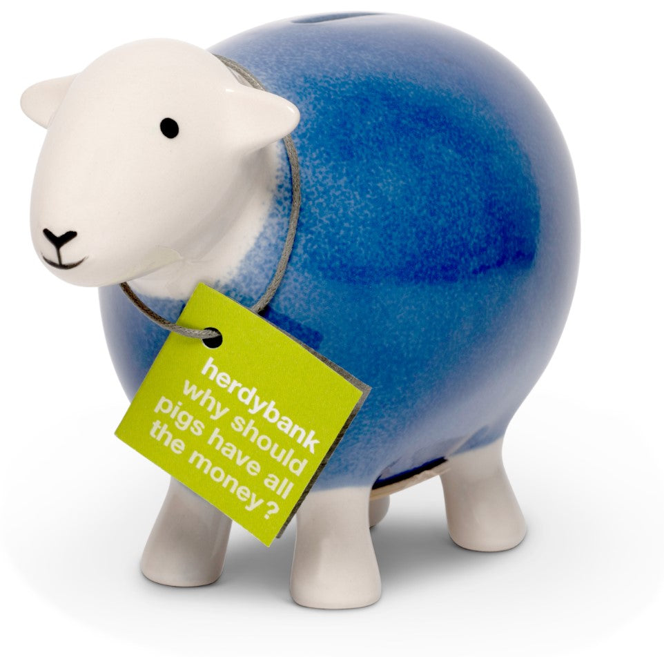 Herdy Money Box - Purple